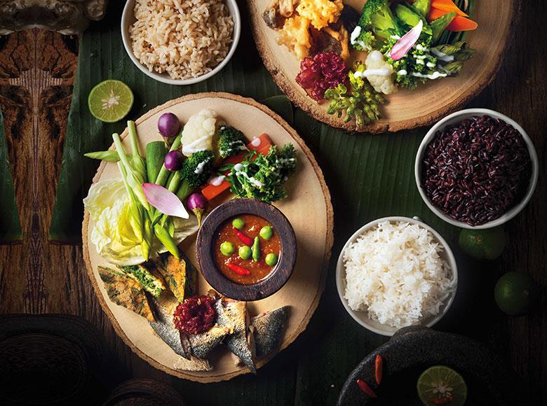 Soups and Thai Dips of Spice Market Bangkok