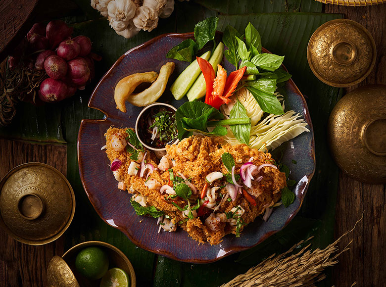 Thai Starters and Salads by Spice Market Bangkok
