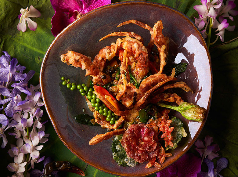 Fried and Steam Dishes at Spice Market Bangkok
