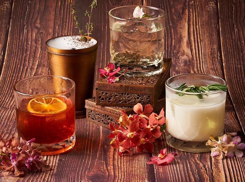 Beverages offered by Spice Market Bangkok