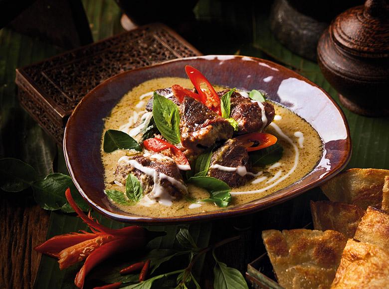 Signature Dishes prepared by Spice Market Bangkok